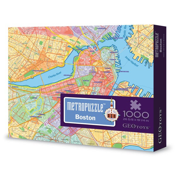 Geotoys Boston MetroPuzzle