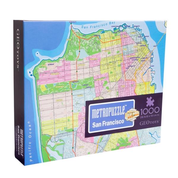 Geotoys San Francisco MetroPuzzle