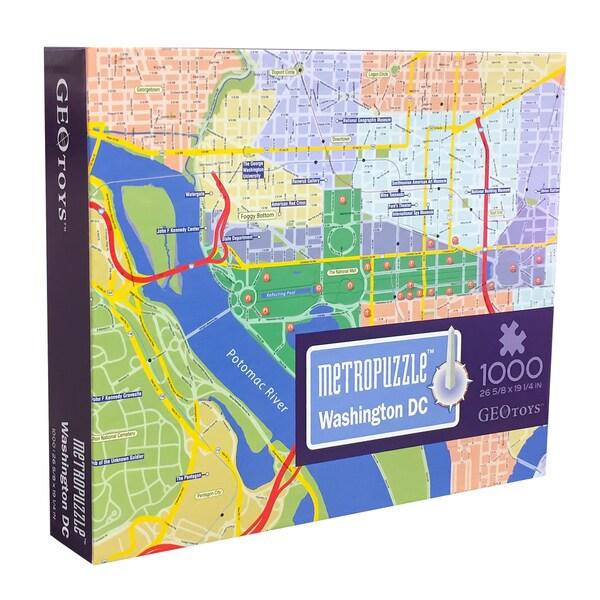 Geotoys Washington DC MetroPuzzle