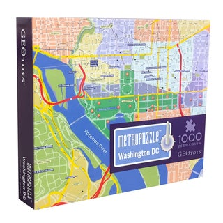 Geotoys Washington DC MetroPuzzle