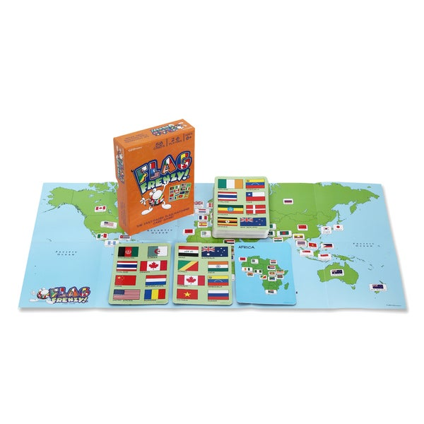 Geotoys Flag Frenzy World