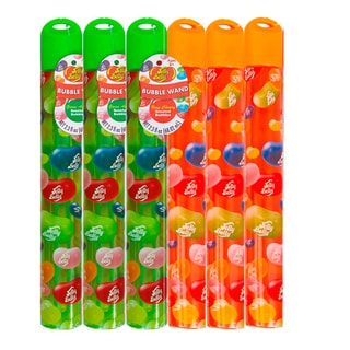 Jelly Belly 2.3-ounce Cherry Tangerine Bubble Wand (Pack of 6)