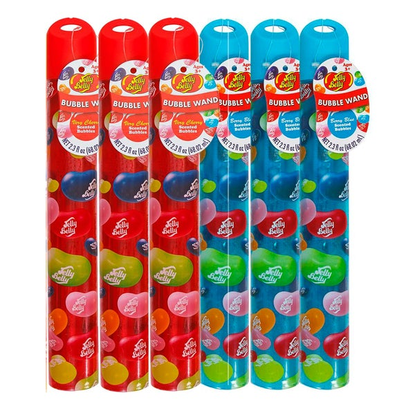Jelly Belly 2.3-ounce Grn Apple Berry Blu Bubble Wand (Pack of 6)