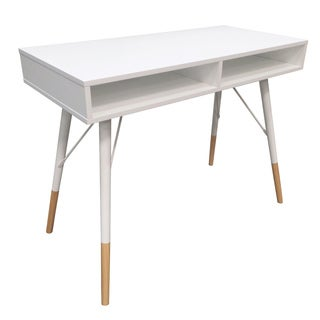 Atlantic Urban White 2-pocket Desk