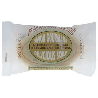 L'Occitane Almond 1.7-ounce Delicious Soap https://ak1.ostkcdn.com/images/products/16817734/P23120328.jpg?impolicy=medium