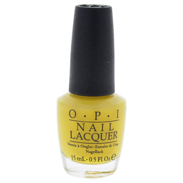 OPI Nail Lacquer Fiji Collection Exotic Birds Do Not Tweet