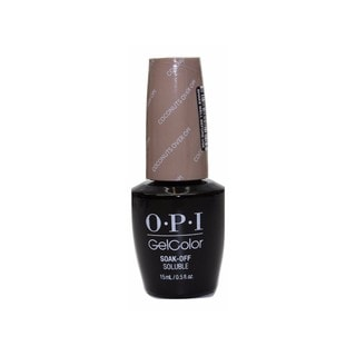OPI GelColor Fiji Collection Coconuts Over OPI
