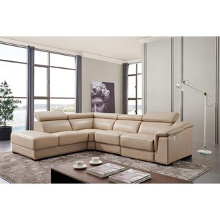 Luca Home Aaron Power Reclining Sectional