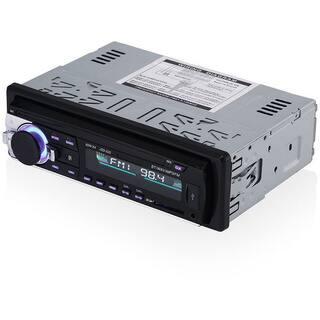Bluetooth Car MP3 Player Stereo In-dash 1 Din FM Aux Input Receiver SD USB MMC Car Radio Player 12V
