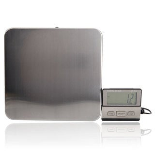 888 200KG/100G SF-888 White Backlit LCD Plastic Electronic Scale Silver