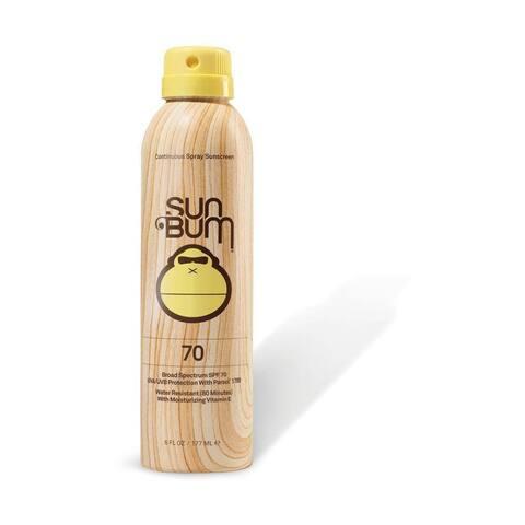 Sun Bum 6-ounce Continuous Spray Sunscreen SPF 70