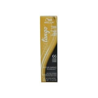 Wella Color Tango Permanent Masque Hair Color Citrine GG