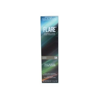 Clairol FLARE Permanent Cream Hair Color 5N Light Neutral Brown