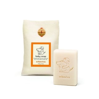 Erbaviva 4-ounce Baby Soap