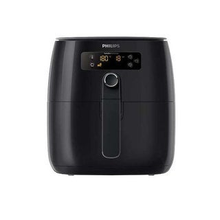 Philips - Avance Collection Turbo Star Air Fryer - Black HD9641/96