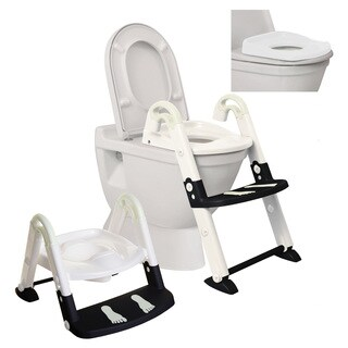 Dreambaby 3-in-1 Glow in The Dark Toilet Trainer - White