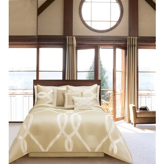Portico Collection 7 Piece Comforter Set, Queen