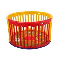 Dream On Me Multicolored Circular Playard