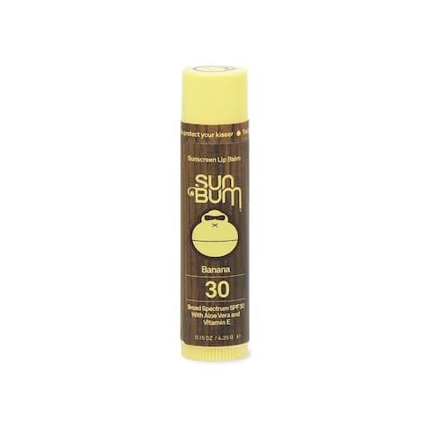 Sun Bum Banana Flavored Lip Balm SPF 30