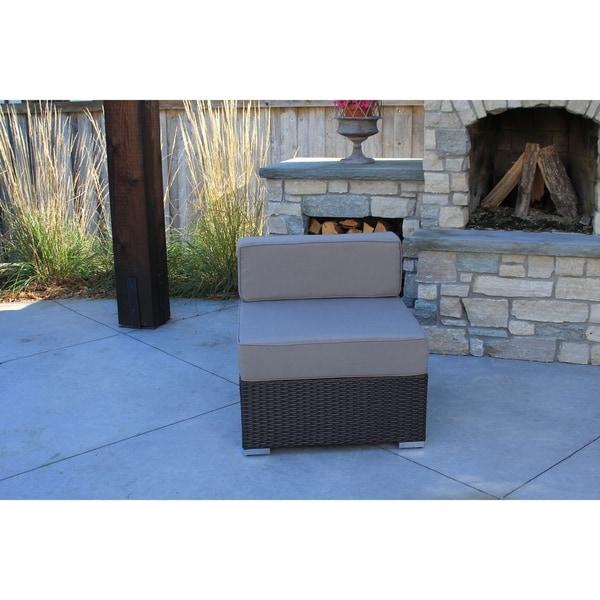modern outdoor furniture cheap. fine modern hiawatha 8pc modern outdoor rattan patio furniture sofa setmodular  free  shipping today overstockcom 23121427 for cheap
