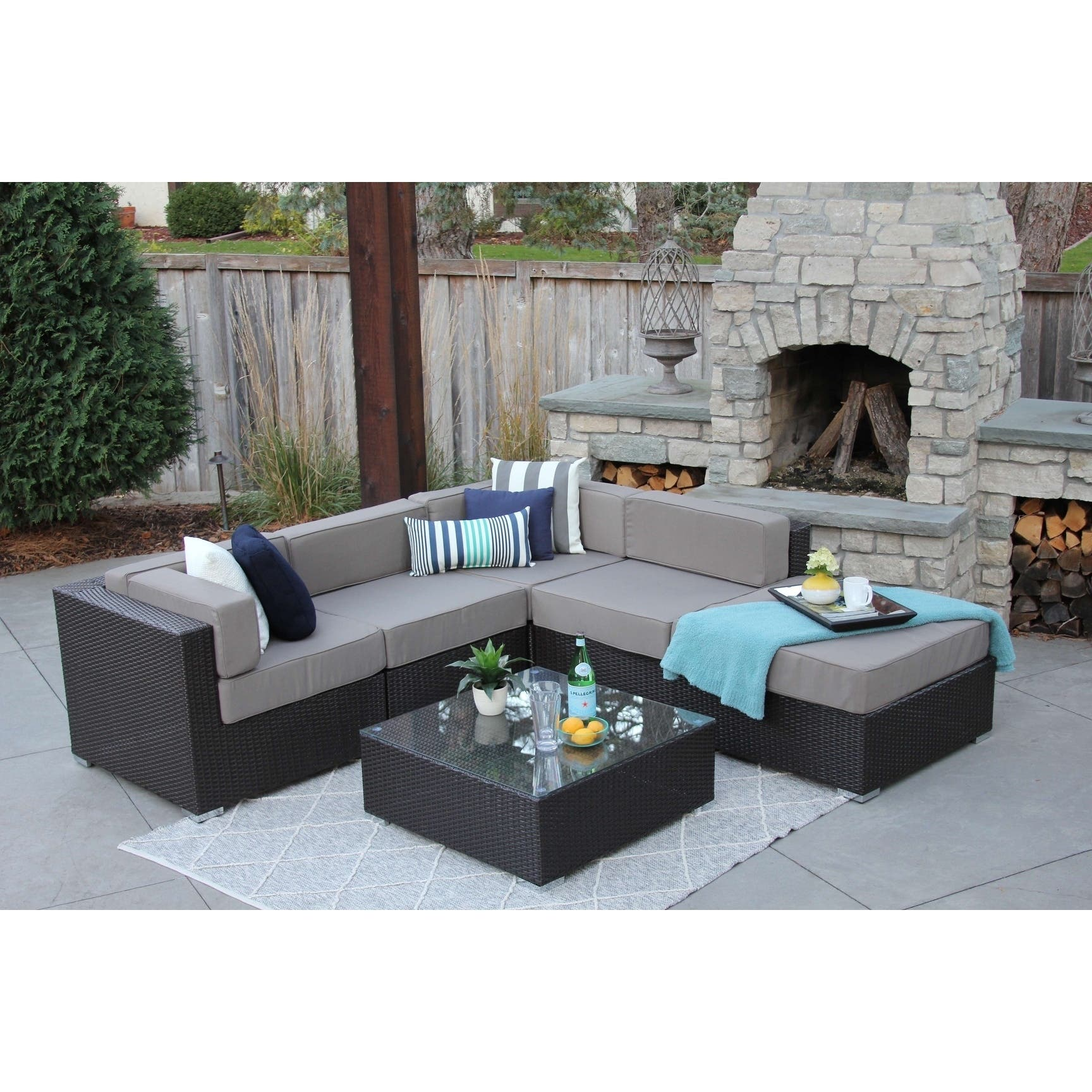 Outdoor sofas chairs sectionals for less for Outdoor furniture 0 finance