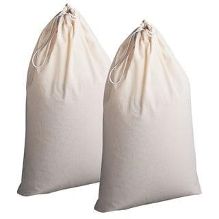 Natural 100% Cotton Bag - Set of 2