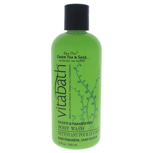 Vitabath Green Tea & Sage 12-ounce Body Wash (1), Size 10...