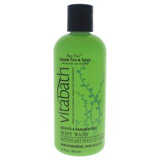 Vitabath Green Tea & Sage 12-ounce Body Wash|https://ak1.ostkcdn.com/images/products/16819095/P23121541.jpg?impolicy=medium