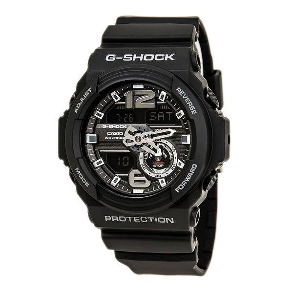 b6cdbce38 Shop Casio Men's GA310-1A 'G-Shock' Chronograph Analog-Digital Black Resin  Watch - Free Shipping Today - Overstock - 16819110