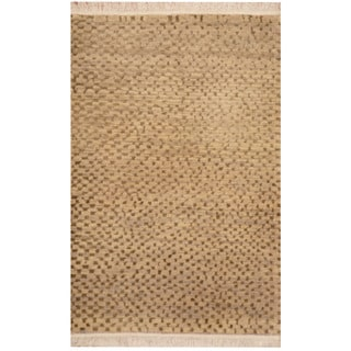 Link to Handmade One-of-a-Kind Tibetan Wool Rug (India) - 2' x 3' Similar Items in Rugs