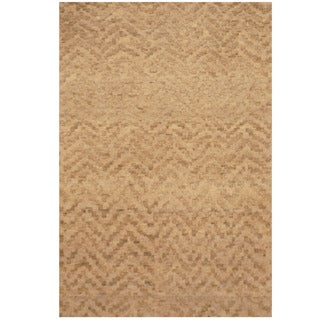 Herat Oriental Indo Hand-knotted Tibetan Wool Rug (2' x 3')