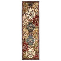 Navy Traditions Baktarri (2.5'x8') Runner - 2'6 x 8'