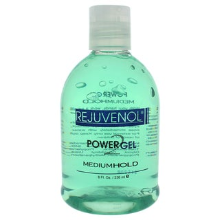 Rejuvenol Power Gel 8-ounce Medium Hold Gel