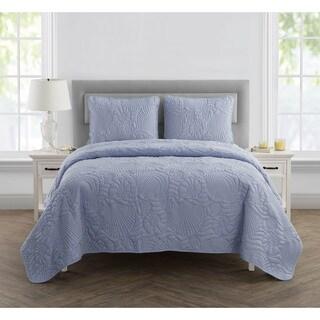 VCNY Home Shells 3-piece Quilt Set