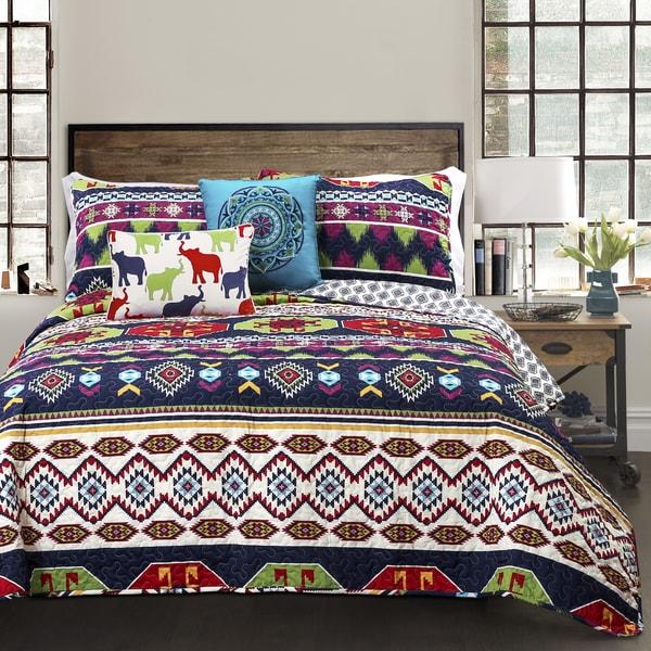 Lush Decor Sanora 5-piece Reversible Quilt Set