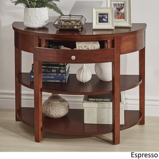 Fillmore Rounded 1-Drawer Console Table TV Stand by iNSPIRE Q Bold (More options available)