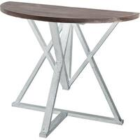 Mercana Milne White Wood Accent Table