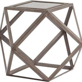 Mercana Multus Brown Metal Side Table