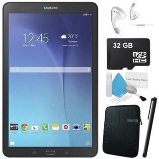 Samsung Galaxy Tab E 9.6 inch 8GB 5MP Tablet Android SM-T560 Black Bundle