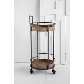 Mercana Brulee Beige Wood Bar Cart|https://ak1.ostkcdn.com/images/products/16820365/P23122669.jpg?impolicy=medium