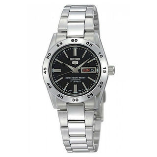 Seiko SYMG39K1 5 Women's Black Dial Watch