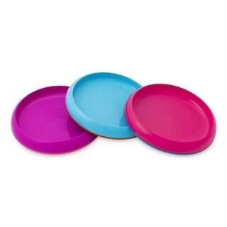 Boon Pink/Purple/Blue Plate Edgeless Nonskid Plates