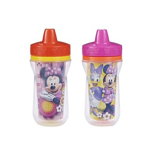 The First Years Minnie Mouse Insulated 9-ounce Sippy Cups (Pack of 2)