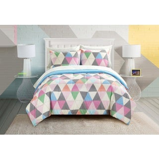 Pop Shop Color Triangles 7-piece Bed in a Bag Set (2 options available)