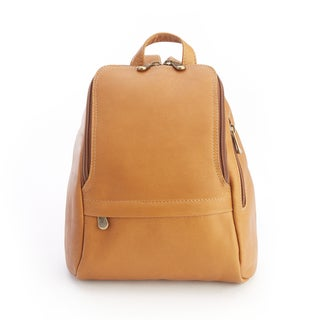 Royce Colombian Genuine Leather Tan Fashion Backpack
