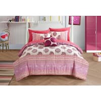 Paisley Pom Pom 8-piece Bed in a Bag Set