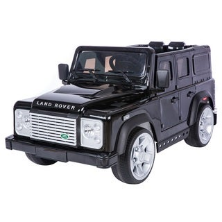 Land Rover Defender Black Battery Operated SUV