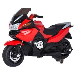 Red 12-volt Children's Motorcycle