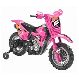 Pink 6V Dirt Bike