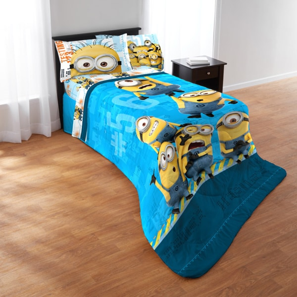 Despicable Me Minions Testing 1234 5-piece Bed In A Bag Set